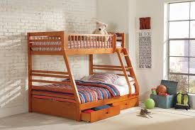 Ashton Honey Twin Over Full Bunk Bed by Coaster