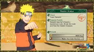 Naruto Shippuden Ultimate Ninja Storm 3 Full Burst Mission Request : Master  Jiraiya - YouTube