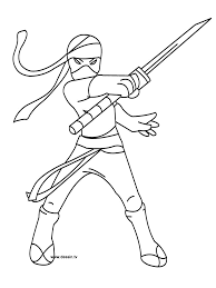 Http Colorings Co Ninja Coloring Pages