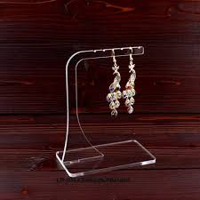 Earring Display Stands Wholesale Wholesale 100pcs Clear Acrylic Earring Display Hanger Earring 22