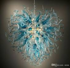 italian chandelier picture hand blown glass chandeliers flower lighting modern about position