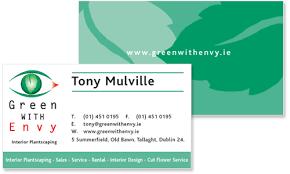 Business Cards Dublin Sample Portfolio
