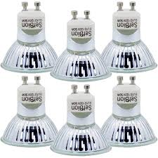 Halogen Light Bulb Glass Cover Details About Gu10 Halogen Light Bulb Mr16 Light Bulbs 120v 50w Uv Glass Cover Dimmable