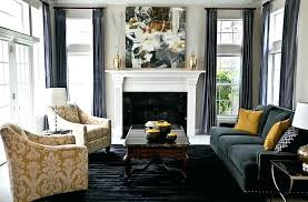 grey and yellow furniture. Charcoal Grey Living Room Furniture And Yellow Decor Heather L