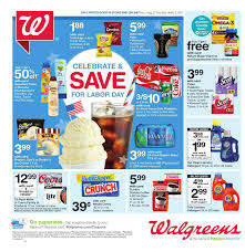 Walgreens Weekly Ad August 27 September 2 2017