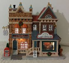 The villages insurance ⭐ , united states of america, florida, sumter county: Lemax Law Offices And Village Insurance Services Caddington Christmas Village Lemax Christmas Village Houses Christmas Village Houses Lemax Christmas Village