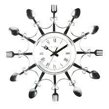 unique kitchen wall clocks cool