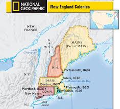 the thirteen american colonies mpas