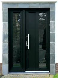 modern entry doors black front door with glass modern exterior front doors with glass black front