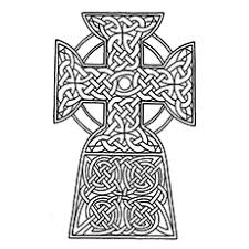 cross pictures to color. Contemporary Cross Celtic Cross Inside Pictures To Color G