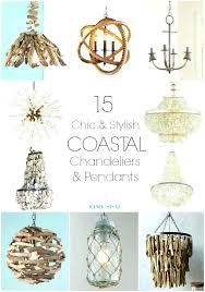 coastal style chandeliers beach light fixtures best lighting regarding decorations 17