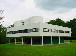 Villa Savoye in Poissy, France