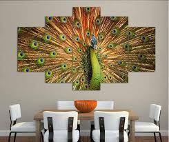 >big size abstract living room wall decor home decor hang wall art  big size abstract living room wall decor home decor hang wall art picture printed peacock oil