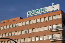 Resultado de imagen de hospital clinico de valencia