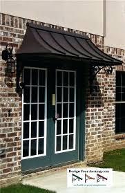 metal entry door awnings diy exterior door awning exterior front door canopy metal awnings for front doors bing images