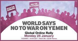 World <b>Says No to War</b> on Yemen – Global Online Rally ...