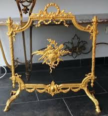 antique fireplace screens fire screen of gilt bronze xv style century antique fireplace screens australia antique fireplace screens