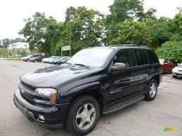 2004 Black Chevrolet TrailBlazer LS 4x4 #95363761 | GTCarLot.com ...