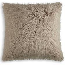 Mongolian fur pillows Rose Frisco Mongolian Sheepskin Faux Fur Pillow Walmart Frisco Mongolian Sheepskin Faux Fur Pillow 20