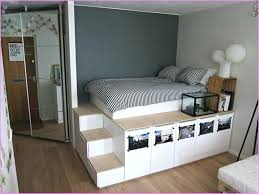 diy storage bed platform bed with storage staircase diy queen storage bed with drawers
