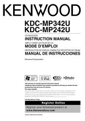 kdc mp342u manual user guide manual that easy to read \u2022 Kenwood Car Stereo Wiring Diagrams KDC-X491 kenwood kdc mp342u radio cd manual rh manualowl com kenwood radio kdc mp342u manual