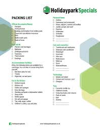 list of items needed for baby best places to go on holiday with a baby blog holidayparkspecials