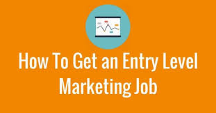 entry levle how to get an entry level marketing job 3bug media