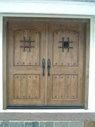 Rustic double front door Entryway 0049 Custom Oak Rustic Double Entry Doors Global Entry Doors Rustic Door Gallery Global Entry Doors