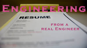 Resume Writing For Engineering Students How To Write An Engineering Resume