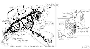 2012 infiniti fx35 oem parts infiniti usa estore wiring 240 main harness