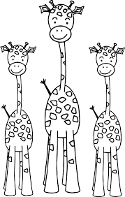 Printable Coloring Pages coloring page giraffe : Rickety Giraffe Coloring Page | Wecoloringpage