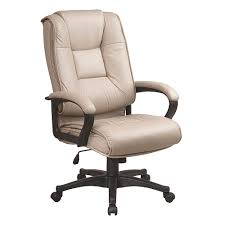 office leather chair. Office Star Products Deluxe High Back Executive Leather Chair