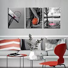 sports themed canvas wall art