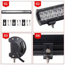 Roads Lights Perfume Lumitek 126w Led Light Bar Offroad Lights 1pcs 126w Combo