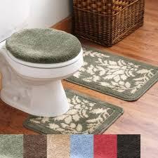 bathroom rugs set medium size of home piece rug sets com 3 bath canada