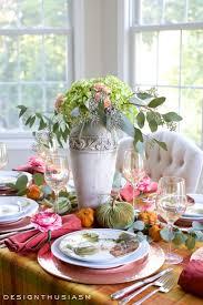 Autumn Colour in a Fall Tablescape | Seasonal Blog Hop~.