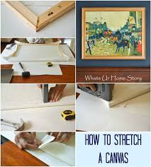how to stretch your own canvas how to stretch a canvas