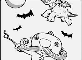 Nick Jr Halloween Coloring Pages 15197 Hypermachiavellismnet