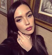 olga seryabkina surprised with a photo without makeup she s