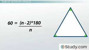 How to Measure the Angles of a Polygon & Find the Sum - Video ...