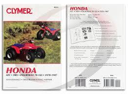 1984 1985 honda atc125m repair manual clymer m311 service shop 1984 1985 honda atc125m repair manual clymer m311 service shop garage