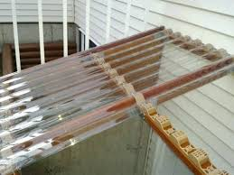 in horizontal plastic closure strips 6 pack at clear corrugated roofing roof panel home depot