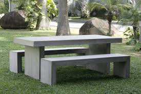 concrete garden bench. Concrete Garden Benches With Table Bench N