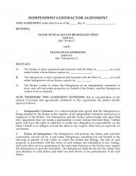 Independent Contractor Agreement Template Extraordinary Sub Contractor Info Form Template Best Of Simple Independent