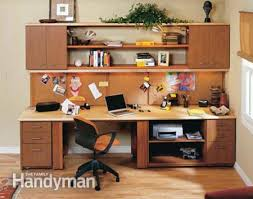 do it yourself office desk. How To Build A Home Office The Family Handyman Do It Yourself Desk