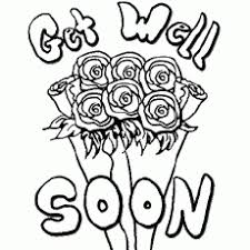 Small Picture Get Well Soon Coloring Pages For Kids And For Adults Coloring Home