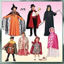 40 McCalls Pattern Childrens Boys Girls 40140 Cape Tunic Witch Magnificent Mccalls Patterns