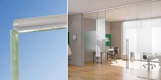 glass per transpa glass door