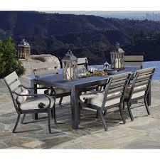outdoor rectangular dining table. Reserve 7-piece Dining Set Outdoor Rectangular Table