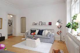 white interior paintModern Apartment  Paint The Town White For A Fresh And Cozy